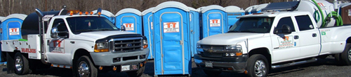 T & T Sweeping and Port-O-Let Service Rent Porta-Potty