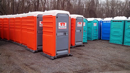 Southern MD Portable Toilet Rental | T and T Sweeping Port O