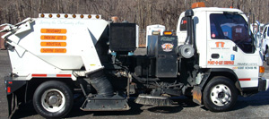 T & T Sweeping and Port-O-Let Service Street Sweeper